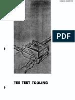 Tee Test Tooling Form No. Reg00910-03