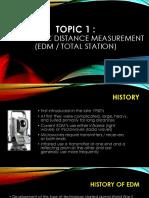 Electronic Measurement Distance