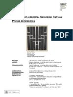 Dossier Coleccion Patricia Phelps de Cisneros