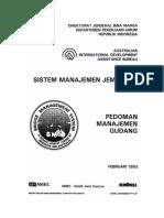 BMS - Pedoman Manajemen Gudang