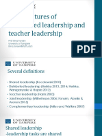 Distributed Leadership and Teacher Leadership 17.2.2017