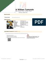 Free Scores.com Jack William Tumundo Will Praise You 16687