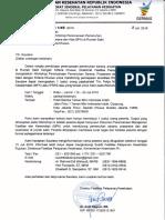 Undangan Peserta Workshop Perencanaan Pengelolaan SPA RS Khusus