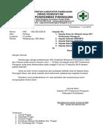Surat Pemberitahuan ORI Difteri