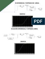 Ecuación Diferencial y Entrada No Lineal
