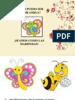 Taller Seamos Como Las Mariposas, ED.parvularia y Básica