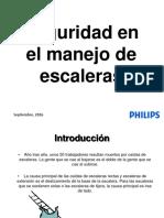 SEGURIDAD EN EL MANEJO DE ESCALERAS.pptx