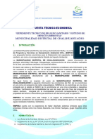 Propuesta Rellenosanitario - Challhuahuacho