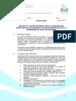 Propuesta EMPSSA Perfil SNIP Challhua_27!01!09