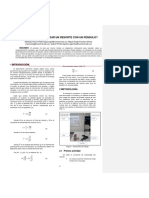 Informe de péndulos sincronizar pendulo con resorte vertical