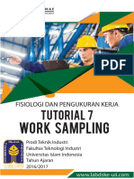 Work Sampling Reguler