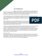 Tom Volk Joins Layer Logic Leadership Team