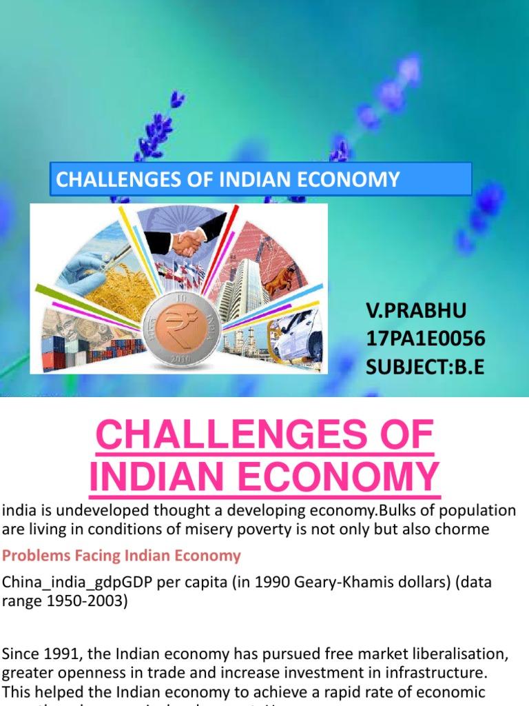 Challenge of Indian economy   Government Budget Balance   Politics