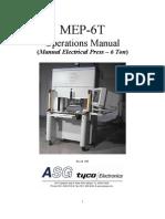 MEP 6T Operations Manual