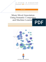 Saari_Music Mood Annotation Using Semantic Computing and Machine Learning