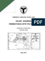 Kajian Akademis Pembentukan Uptd Bidang Plp