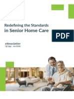 Healthabove60 eNewsletter Q1 | Redefining the Standards in Senior Home Care