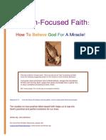 Solution Focused Faith