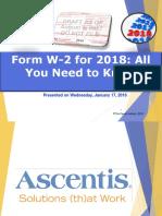 W-2 Form 2018