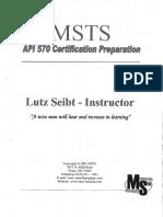 API 570 Certification Preparation for Exam