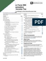 Downloadable PDF Instructions 990 2017-2018
