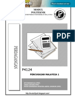 P4124 - Percukaian Malaysia