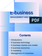 E Business Introduction