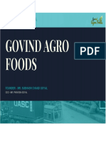 GOVIND AGRO FOODS-A FAMILY BUSINESS(PDF)
