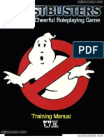 Ghost Busters Roleplaying Game