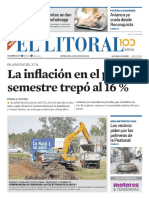 El Litoral Mañana - 18/07/2018