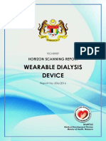 Wearable Dialysis Device