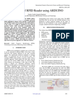 Designing of RFID Reader using ARDUINO