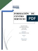 Formacion de Centro de Servicio_final