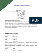 Etode Perhitungan Campuran Beton Job Mix Desain
