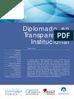 ¿Transparencia institucional?