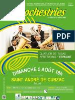 Eurochestries 5 Août 2018