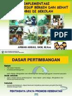 Implementasi PHBS Di Sekolah