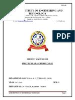 Electrical Measurements Lab Manual Va