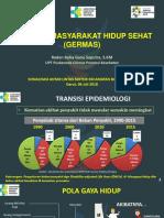 Sosialisasi GERMAS Temu Blogger Jawa Barat 2017