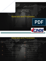 Materials and Processes Sections 1 to 3r