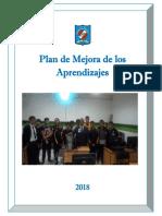 Plan de Mejora de Los Aprendizajes en La Escuela Ccesa007
