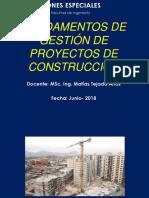 5. Fundamentos de La Gestión de Proyectos de Construcción