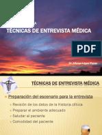 2. Técnicas de Entrevista Médica y Aspectos Eticos de La Hcl