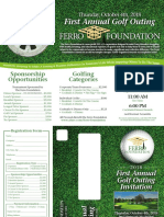 Ferro Foundation Golf Outing