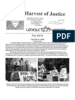Harvest of Justice Fall 2010