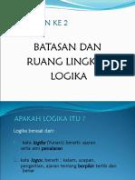 30699 Batasan Logika