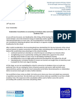 Academy Consultation Letter