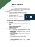 Memoria Descriptiva CARLOS LORENZO RAMOS FLORES.doc