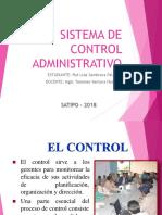 Sistema de Control Administrativo