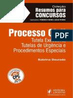 #Coleção Resumos Para Concursos - Processo Civil - Vol. 8 (2016) - Sabrina Dourado